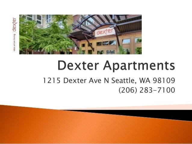 1215 Dexter Ave N Seattle, WA 98109 (206) 283-7100