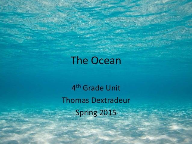 ocean technology thomas slideshare