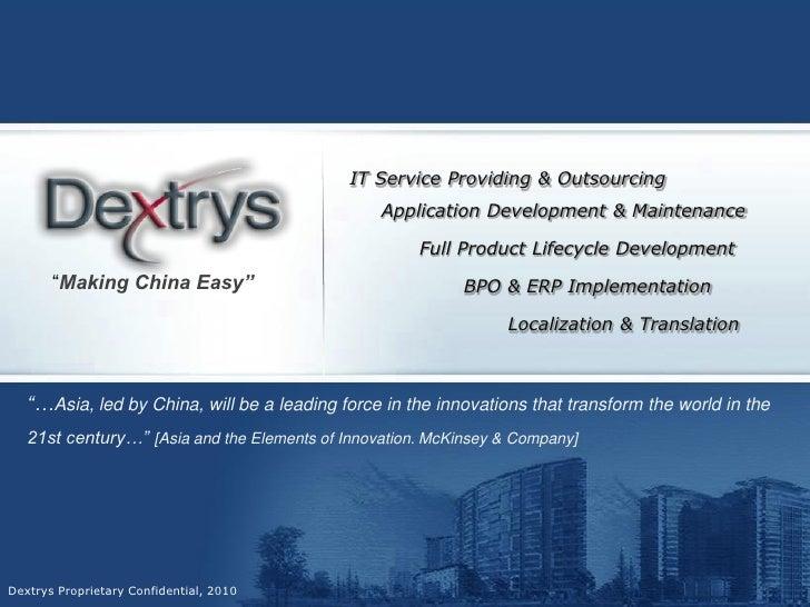 IT Service Providing & Outsourcing                                                  Application Development & Maintenance ...