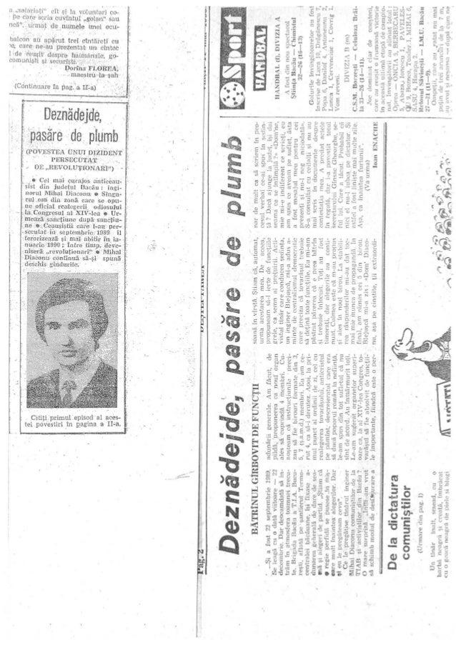 Povestea unui revoluționar adevărat: Mihai Diaconu