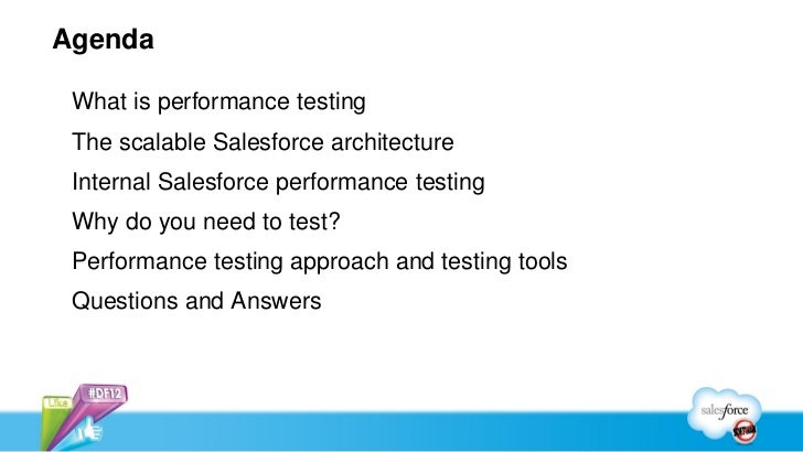 Performance Monitoring and Testing in the Salesforce Cloud