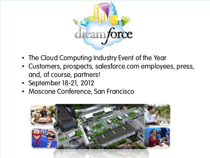 Get Ready for Dreamforce 2012 - Partners Slide 3