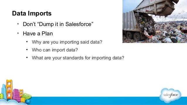 Data Import – SHUT OFF WORKFLOW, YO!