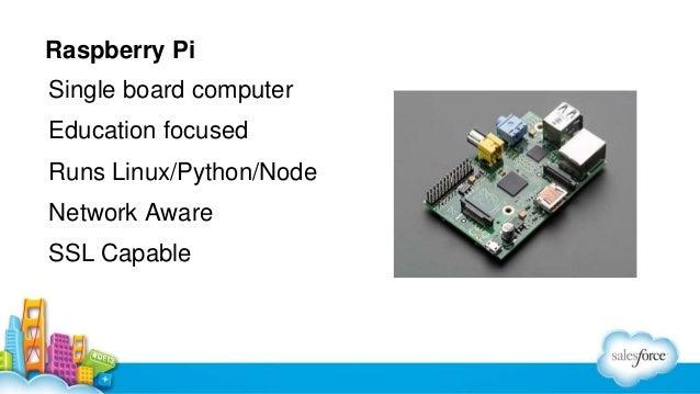 Raspberry Pi Single board computer