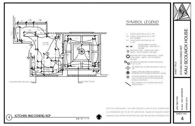 Kali House Reflect Ceiling Plan 1