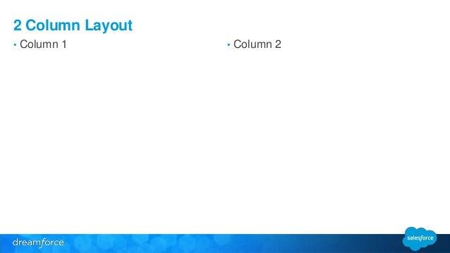 3 Column Layout  • Column 1 • Column 2 • Column 3