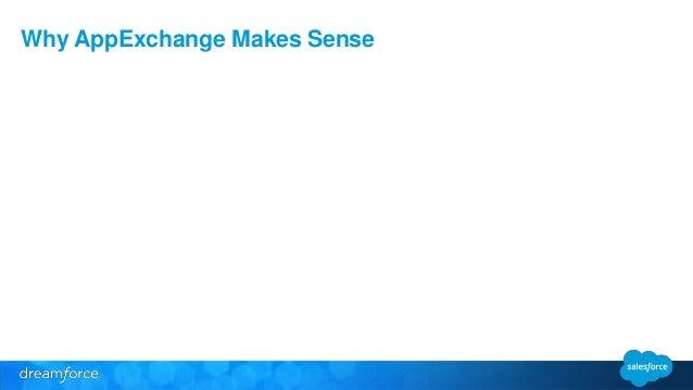 Why AppExchange Makes Sense