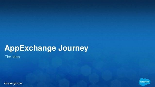 AppExchange Journey  The Idea
