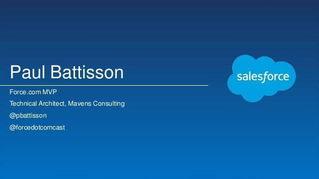 Salesforce1 + VR = Immersive Data Visualization Slide 2