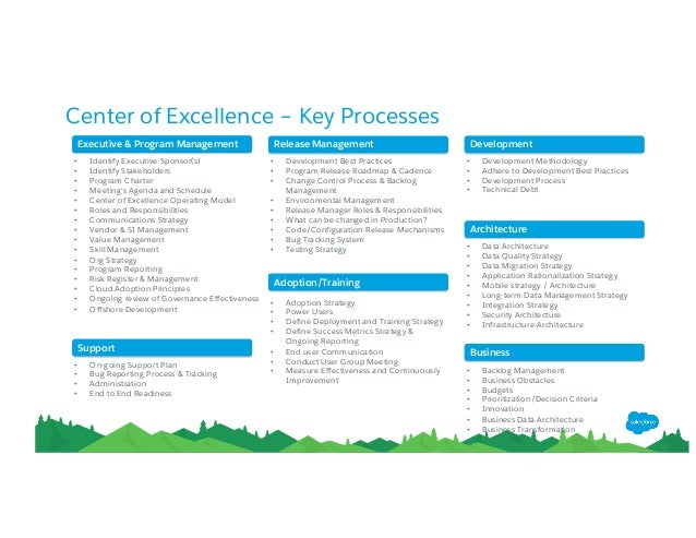 Building a Center of Excellence for your Salesforce crm team