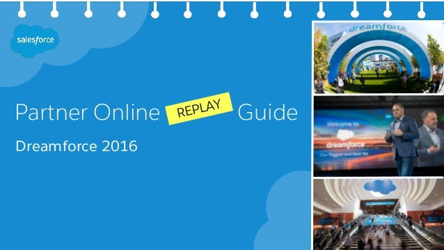 Partner Online Guide Dreamforce 2016