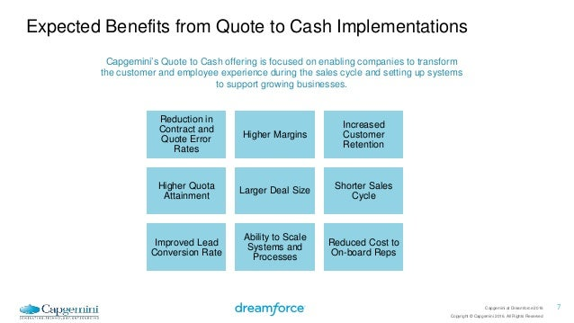 Quote To Cash Identifying Driving Value Adorable Quote To Cash
