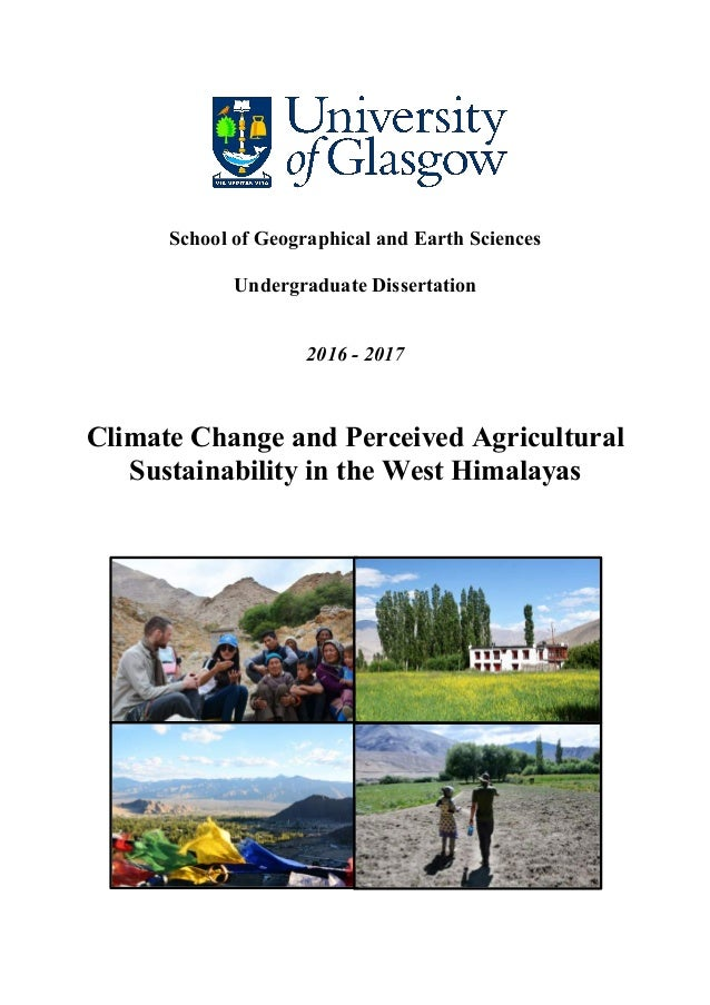 Phd thesis climate change
