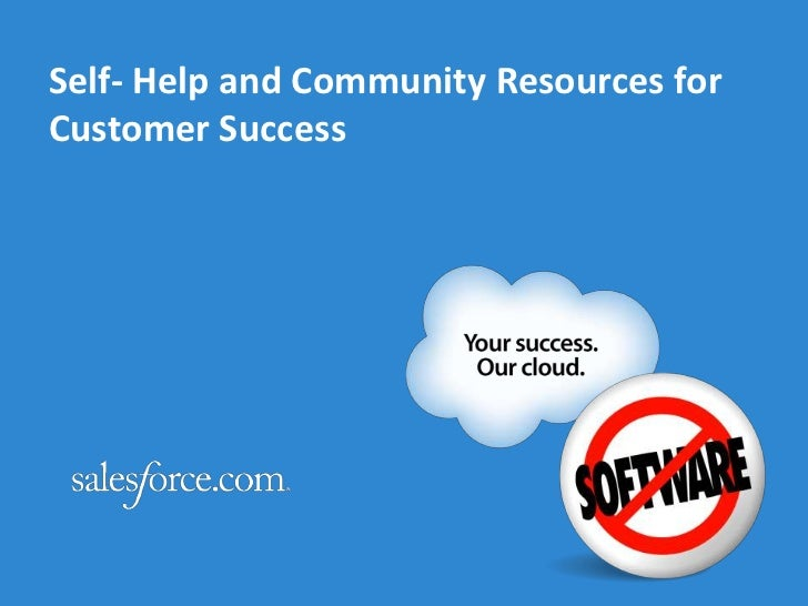 Self- Help and Community Resources for Customer Success<br />