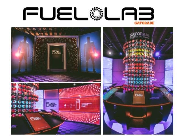 Gatorade Fuel Lab Visuals