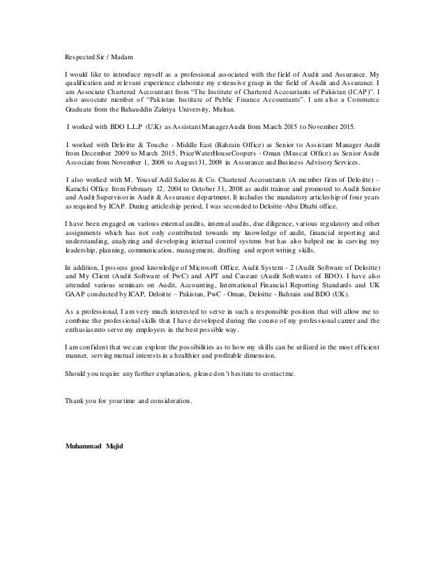Cover Letter-Majid