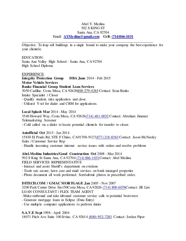 resume july 21 2015 abel medina