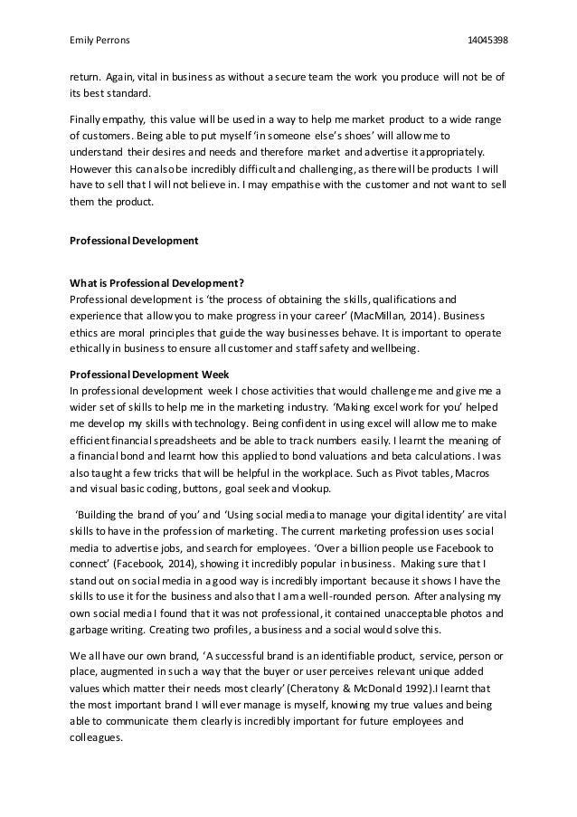 my personal ethics essay