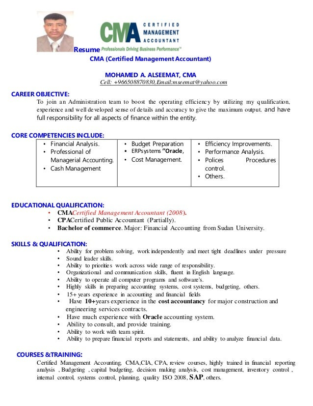 Awesome Sap Accountant Resume Gift - Resume Ideas - bayaar.info