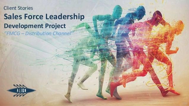 v.01 Sales Force Leadership Development Project ''FMCG – Distribution Channel'' Client Stories