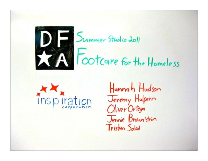DFA:	  Northwestern	  Summer	  Studio	  11/15/11	                                                    5	                   ...