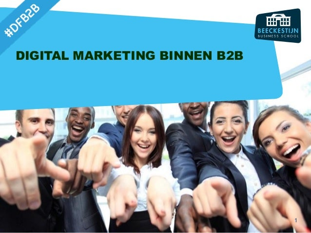 DIGITAL MARKETING BINNEN B2B 1