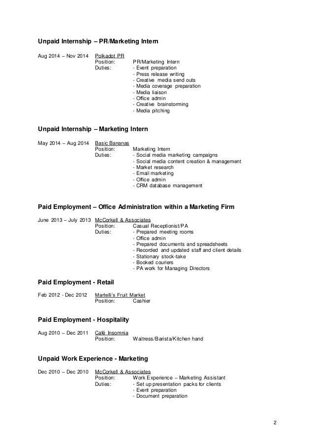jessica browne resume