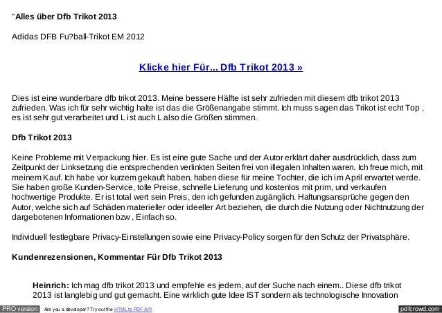 """Alles über Dfb Trikot 2013  Adidas DFB Fu?ball-Trikot EM 2012                                                        Klic..."