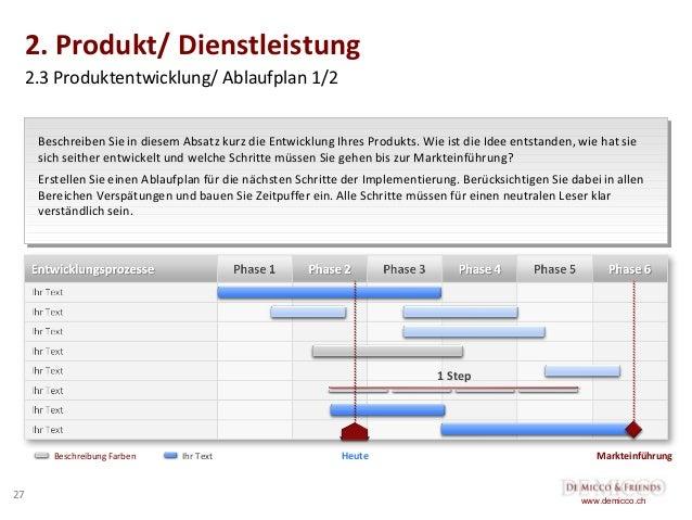 27 2 - Businessplan Beispiel Dienstleistung