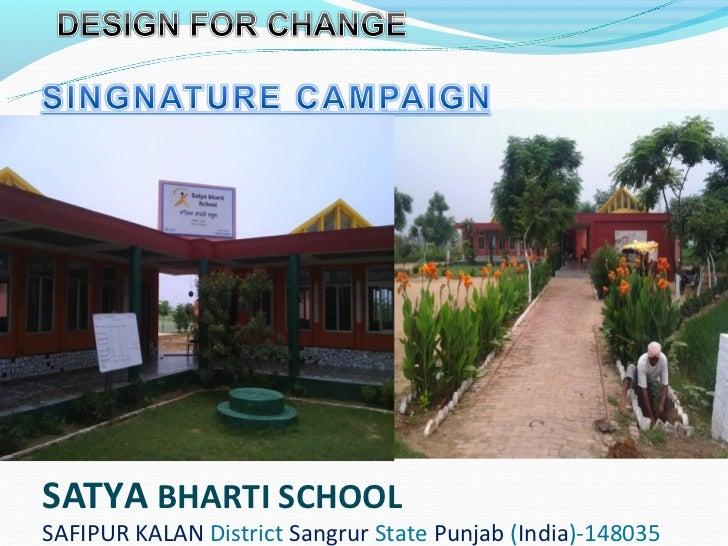 SATYA BHARTI SCHOOLSAFIPUR KALAN District Sangrur State Punjab (India)-148035