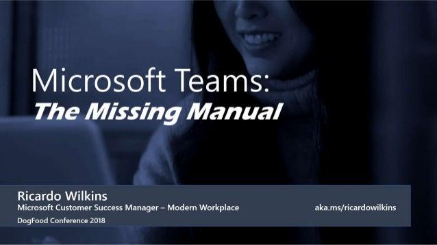 • Quick Overview • Scenarios & Demos • Clicking-Around Tour • Volume (too many teams, notifs) • Team of 1 • Document colla...