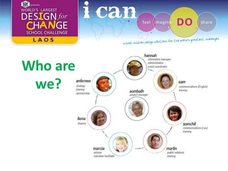 Design For Change Laos Training Workshop Slide 2