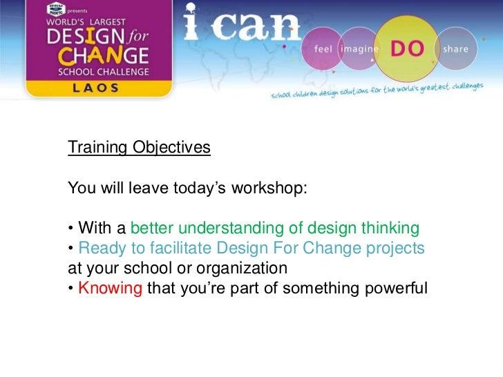 Design For Change Laos Training Workshop Slide 3
