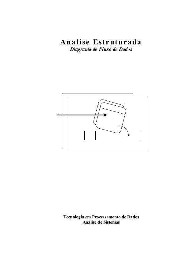 Analise Estruturada Diagrama de Fluxo de Dados Tecnologia em Processamento de Dados Analise de Sistemas