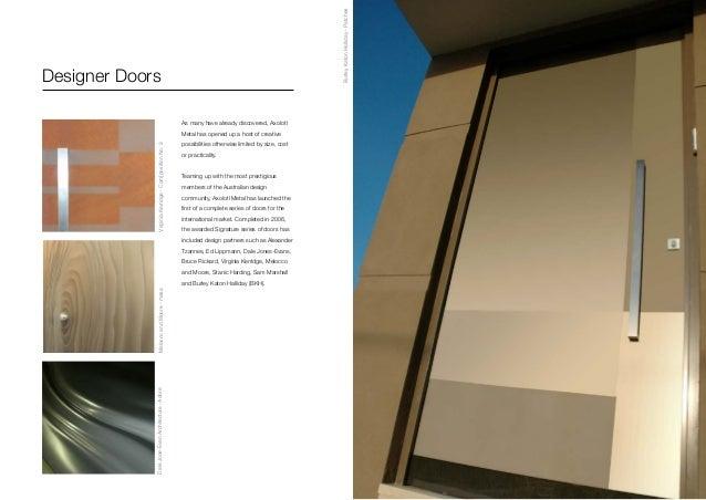 ... Shiver Vertical; 7. Designer Doors ...  sc 1 st  SlideShare & AxolotlMetalBrochure2013