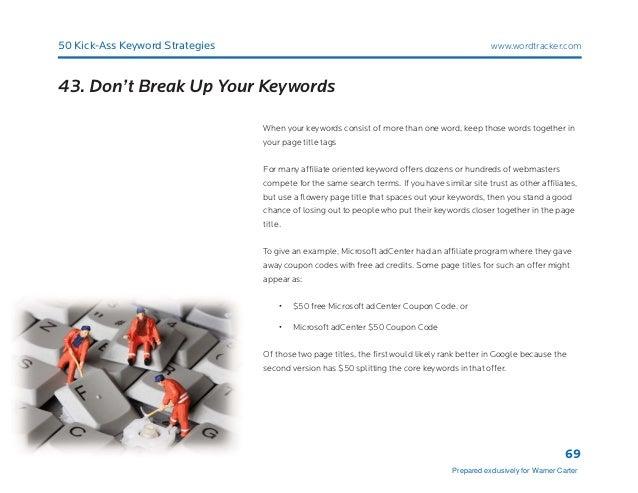 50 kick ass keyword strategies 69 43 fandeluxe Images
