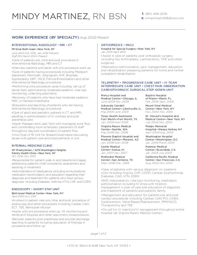 Mindy_Martinez_RN BSN Resume