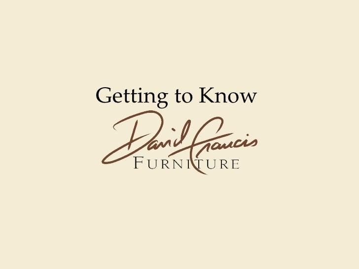 David Francis Furniture