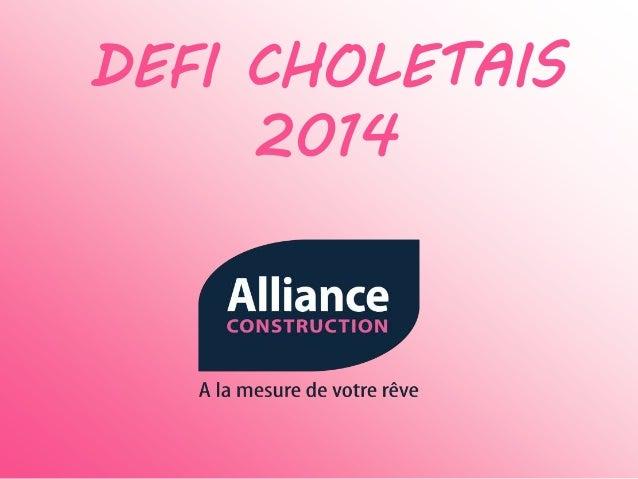 DEFI CHOLETAIS 2014