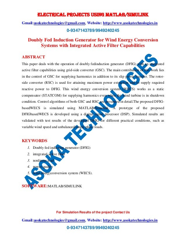 electrical energy conversion systems pdf