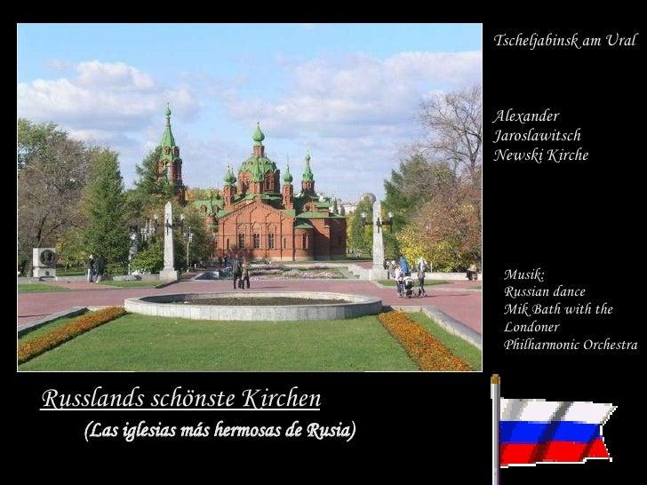 Russlands schönste Kirchen Tscheljabinsk am Ural Alexander  Jaroslawitsch  Newski Kirche (Las iglesias más hermosas de Rus...
