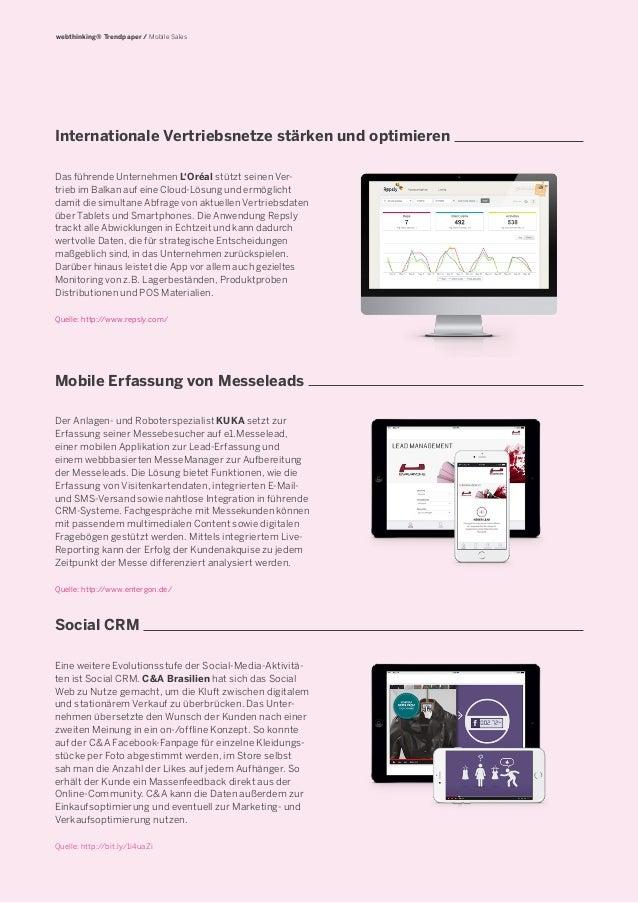 Trendpaper: Mobile Sales - Vom fliegenden Händler zum digitalen Superhelden Slide 2
