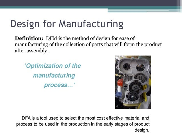 Definition production engineering design — 2