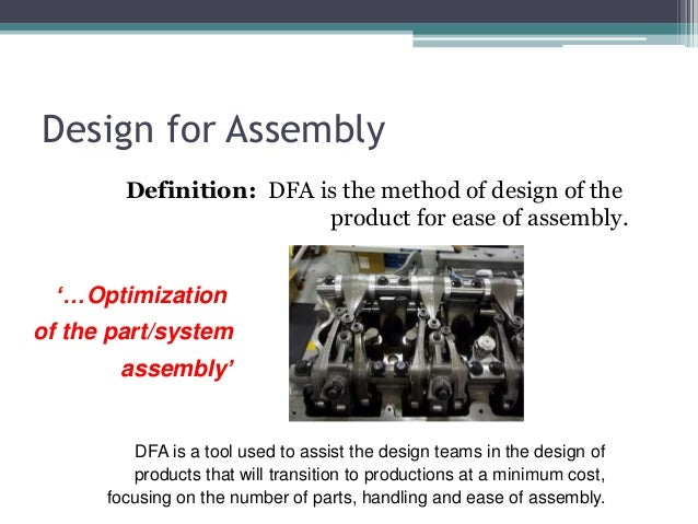 DFMA design for manufacturing and assembly - photo#43