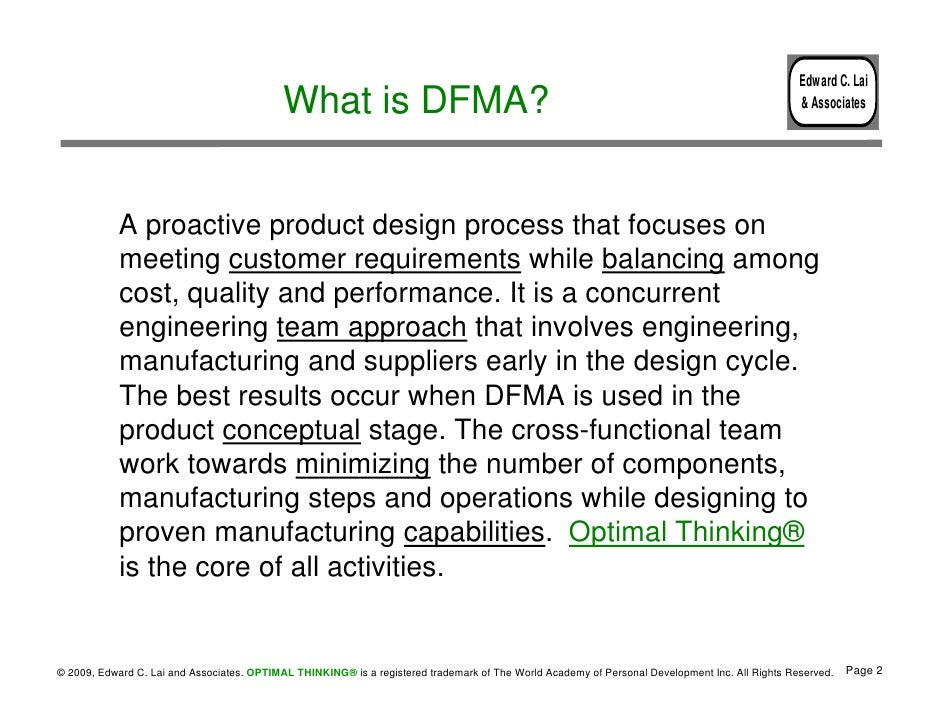 Design for Manufacturing and Assembly - photo#31