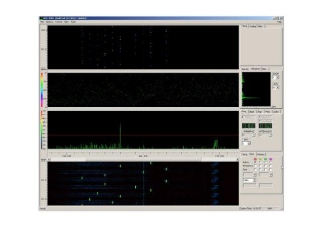 DF receiver GUI for FH detection