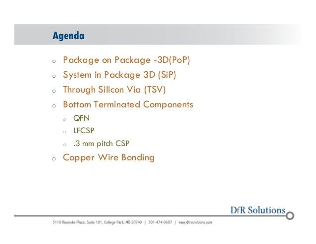 DfR Advanced Packaging Slide 2