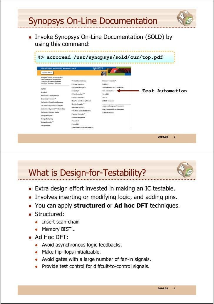 Tips For DFT Compiler