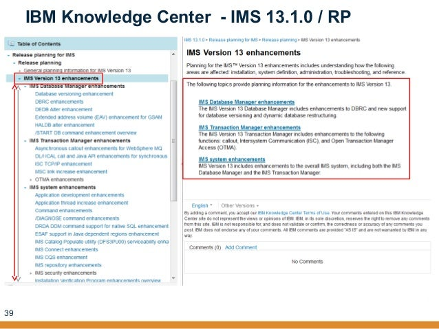 Where and how to find ims information - IMS UG September