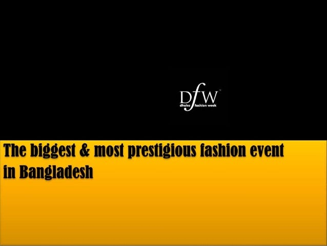 objective of DFW:To build a common platform where we'd be able to showcase the works of all the talented and creative fash...